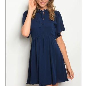 WINE IVORY DRESS-101 Blue dress-101 ... e8baeb9ce